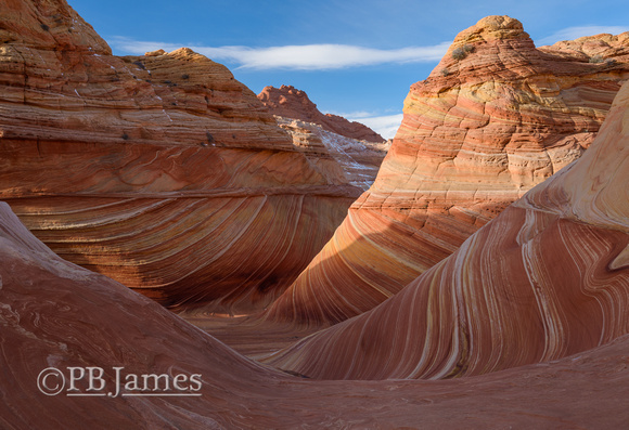 Swirling Sandstone Topography