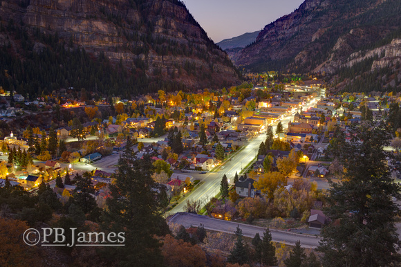 Autumn Evening, Ouray