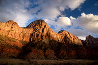 Storm Gathering over Zion