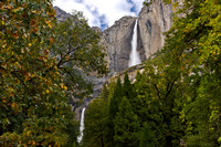 Yosemite Falls Roars in Autumn